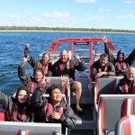 Christmas Party Work Booking on Jet Boat Adventures in the South-West