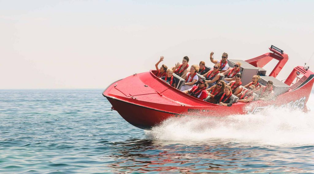 Jet boat thrill ride Dunsborough - South West Tours