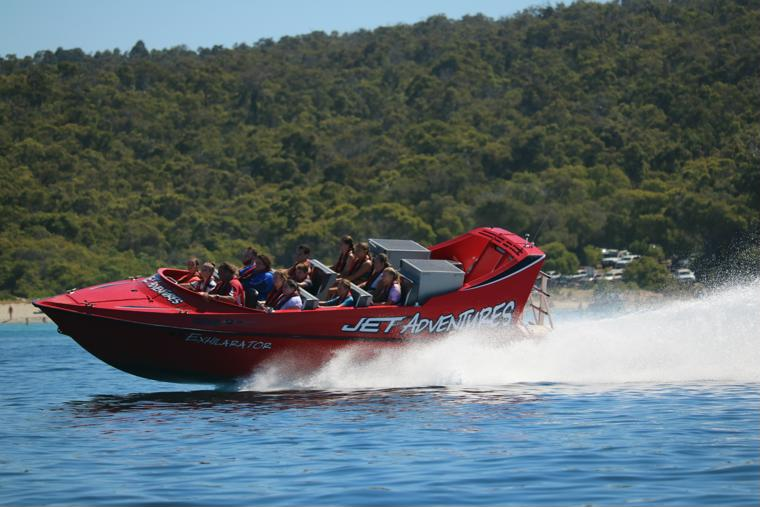 Cruising on the Exhilarator