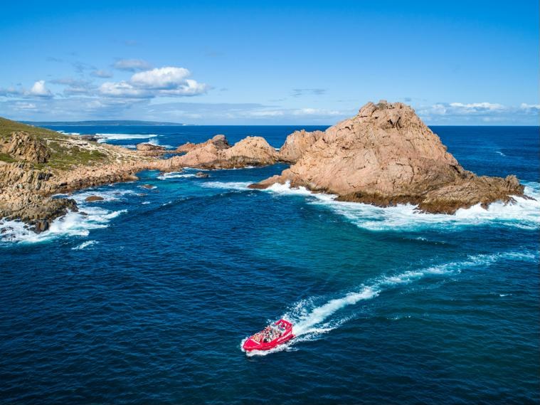 Sugarloaf Rock is a beautiful destination for a work party